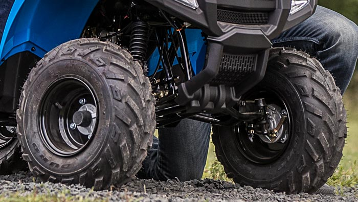 SPORTSMAN 100 EFI - LONG-TRAVEL FRONT AND REAR SUSPENSION